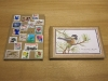Stamp book and Chickadee book