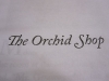 The Orchid Shop typography