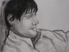 Portrait of Tim, charcoal, 2008