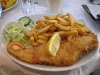 Fish and chips in Whitby
