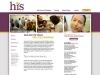 Health Intervention Services website concept