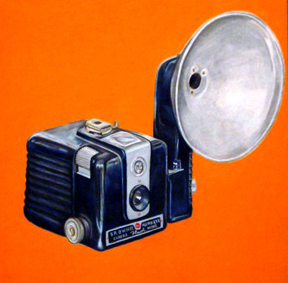 Kodak Brownie, Prismacolor Pencil, 2007