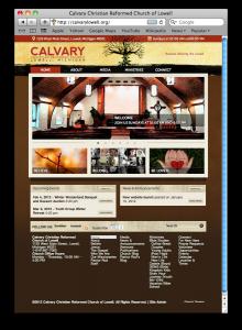 Calvary Christian Reformed Church of Lowell Website