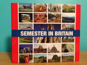 William's Semester in Britain 2010 book