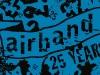 Airband 2009 - 25th Anniversary T-Shirt Design, Illustrator, 2009